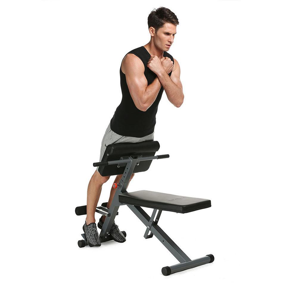 Sit ups fitness equipment home assists foldable abdominal muscles fitness chair abdomen multi function supine board