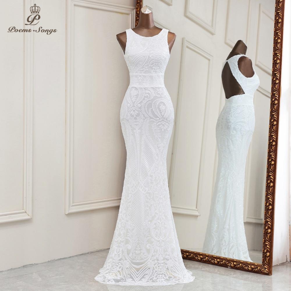 2021 New evening dresses long formal dress women elegant mermaid vestidos de fiesta  elegant backless evening gowns