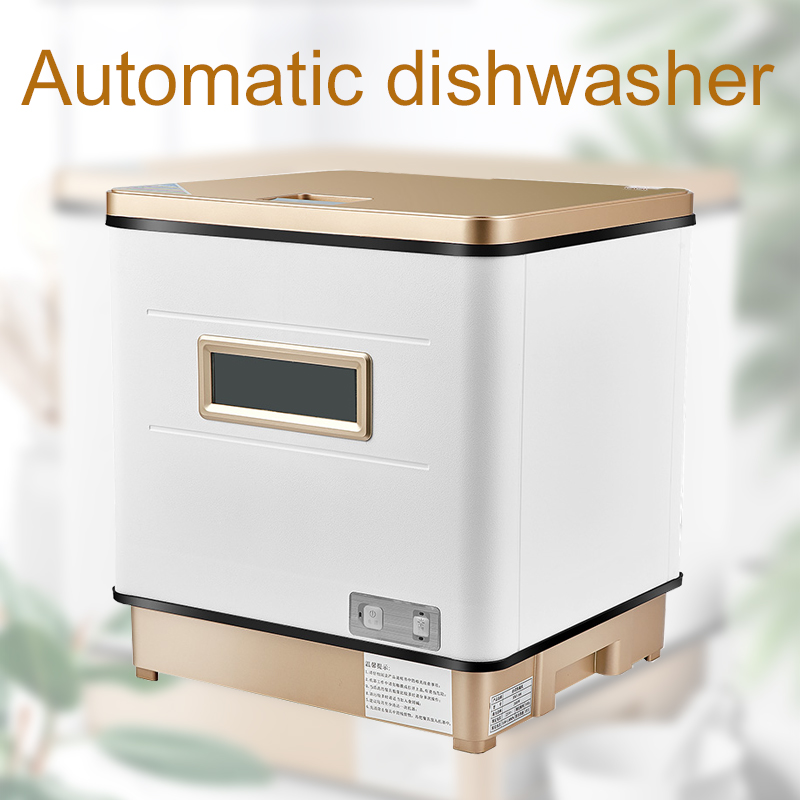 Automatic Dishwasher Small Household Commercial Desktop Free Installation Clean Disinfecting Dry Smart Dish Washing Machine