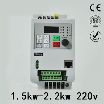 220V VFD 1.5kw 2.2kw Single phase inverter VFD 2hp3hp inverter Frequency Converter Variable Frequenc Drive Spindle Speed Control vfd coolclassic inverter converter 380v 7 5kw inverter three phase power warranty 18 month