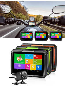 Newest Fodsports GPS Moto Navigator 4.3 inch With DVR IPX7 Waterproof Android System