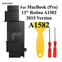Battery-A1582 Nohon Laptop Apple Macbook A1502 Li-Polymer for Pro 13-Retina 6400mah MF840