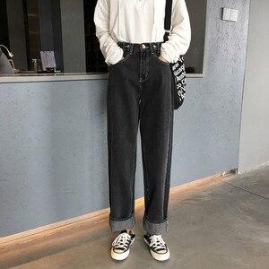 Image 4 - กางเกงยีนส์ผู้หญิงนักเรียน Trendy Elegant All Match คุณภาพสูงเกาหลีสไตล์ Leisure หญิงน่ารัก 2020