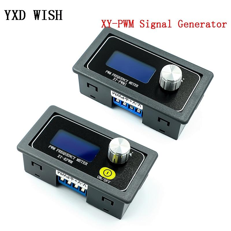 XY-PWM генератор сигналов 1-канальный 1 Гц-150 кГц Φ частота импульса рабочий цикл регулируемый модуль ЖК-дисплей