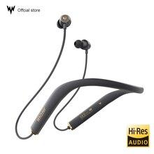 หูฟังบลูทูธ AM1E หูฟังไร้สายบลูทูธ 5.0 สนับสนุน Qualcomm aptX และ AAC HD บลูทูธ IOS Android พร้อม MIC