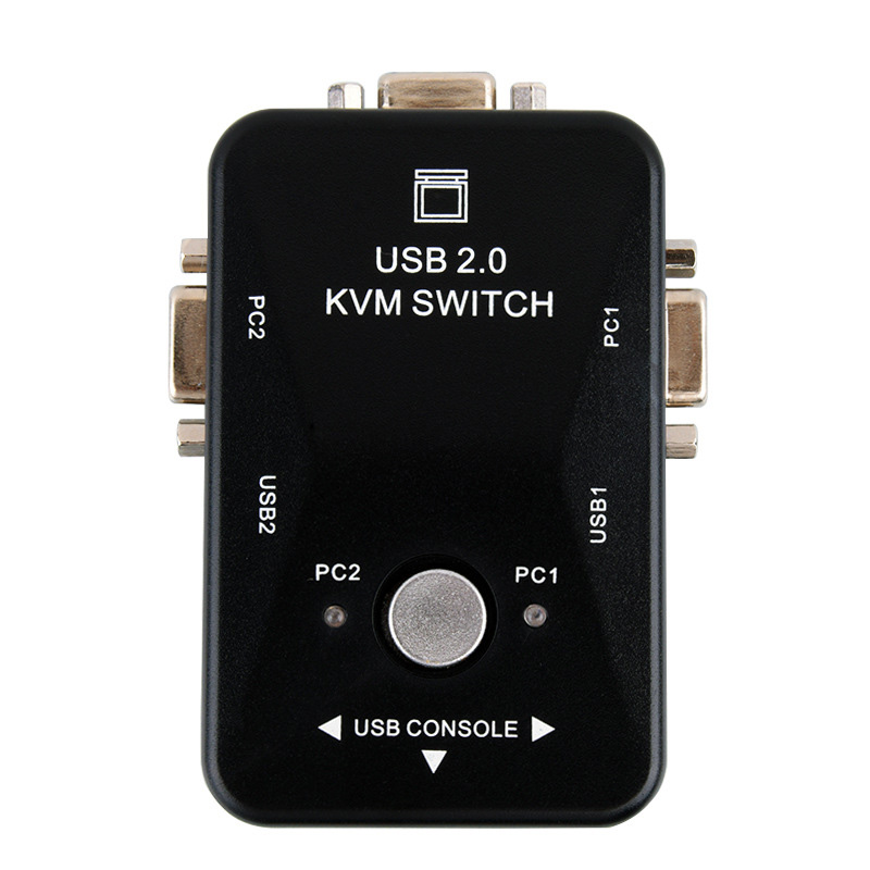 Two-in And One-out Switch USB 2 Port Printer Sharing Device Computer Switcher NK-Shopping