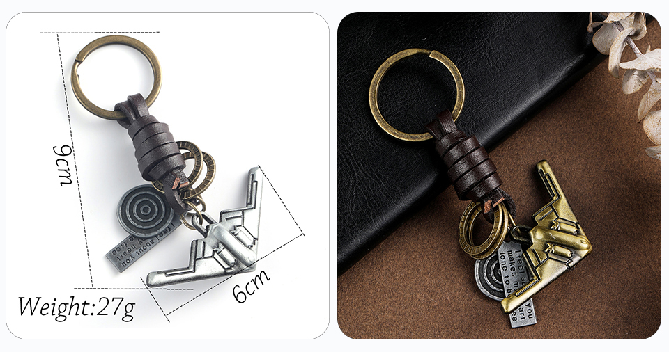 Trendy Car Key Chain Keychains Gifts For Women Men Accessories Keyholder Key-rings Bicycle Spaceship Keys Pendant Chains Key Ring Wholesale Dropshipping (2)