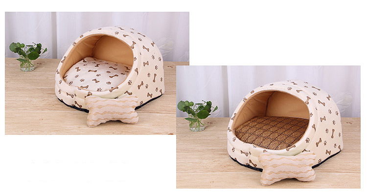 Pet Bed House-Eco-Dogs and Cats indoor Bed-Free Shipping-0