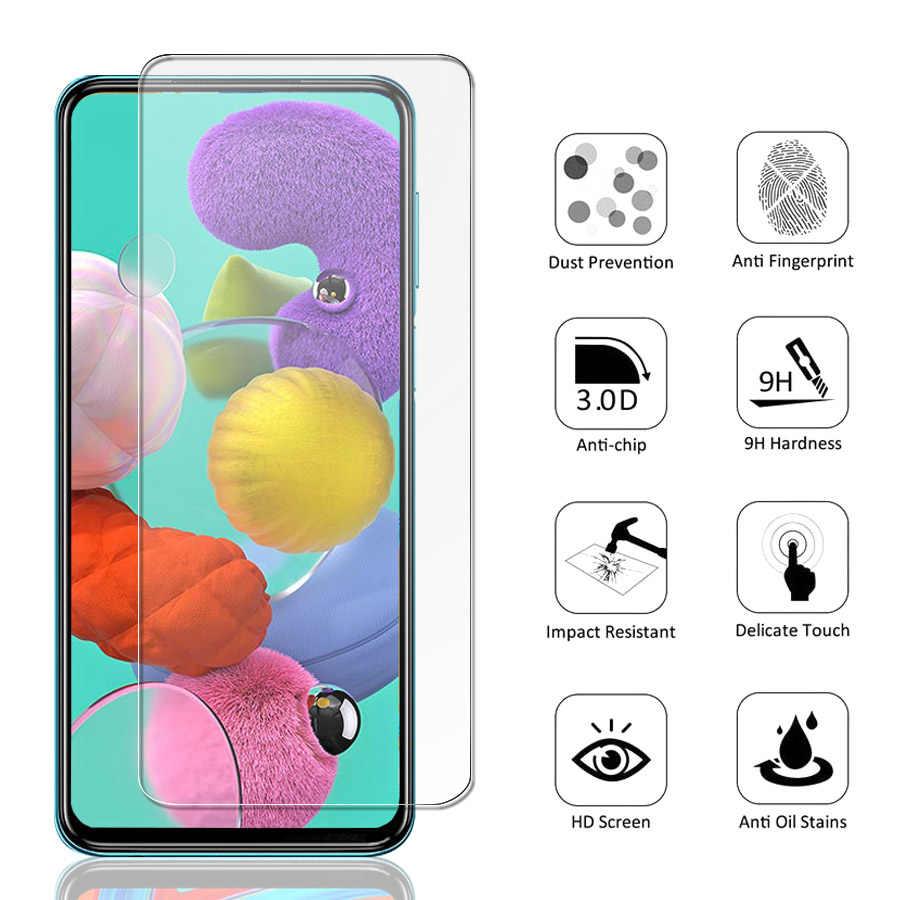 Szkło do Samsung Galaxy A51 A50 A71 szkło hartowane dla Samsung A50 A51 A70 M31 A01 A10 A30 A40 A20E A10E A41 A31 M21