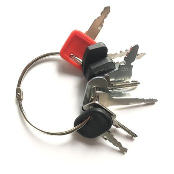 9 klawiszy ciężki sprzęt budowlany kluczyk zapłonowy zestaw startowy tanie i dobre opinie 68920 202 NG100 steel 68920 202 NG100 83353 Heavy Equipment Construction Ignition Key Set