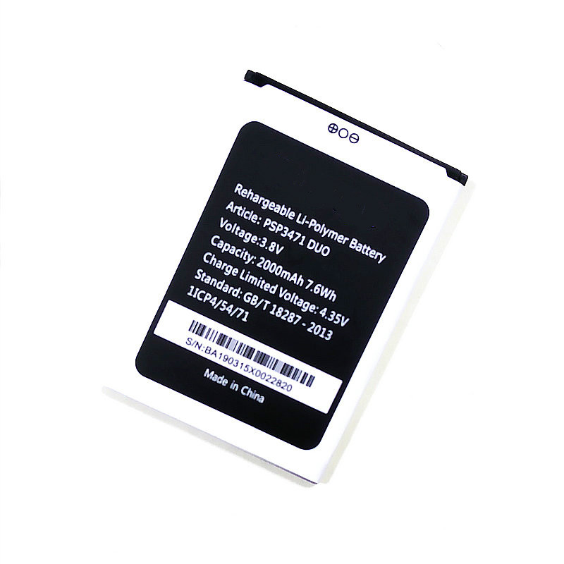 Westrock 2019 Psp3471 Duo 2000mAh Battery For Prestigio Wize Q3 DUO PSP3471 Cell Phone