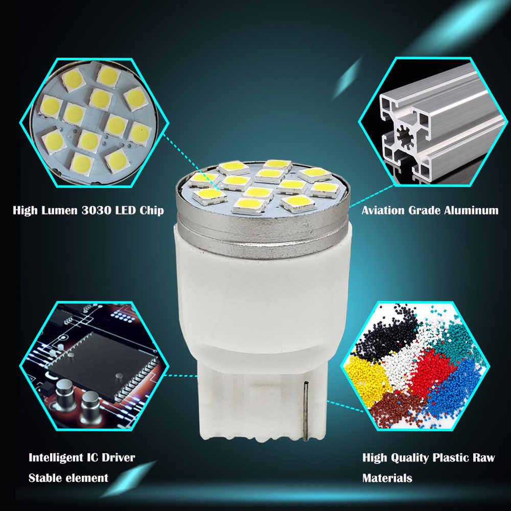 1PCS T20 LED 7440 7443 W21W W21/5W LED Bulb 12SMD 3030 Auto Turn Signal Lamp Car LED Reverse Brake Lights 12V White Red Amber
