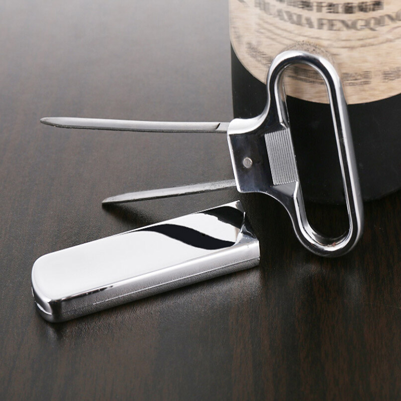New Creative High Quality Newest Two-prong Cork Puller Ah-so Wine Opener Professional Old Red Wine Opener