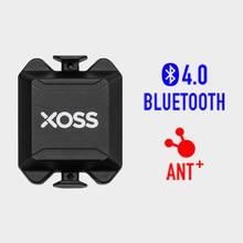 Xoss ciclismo cadência sensor velocímetro monitor de freqüência cardíaca ant + bluetooth 4.0 para garmin bryton ciclo computador e bicicleta app