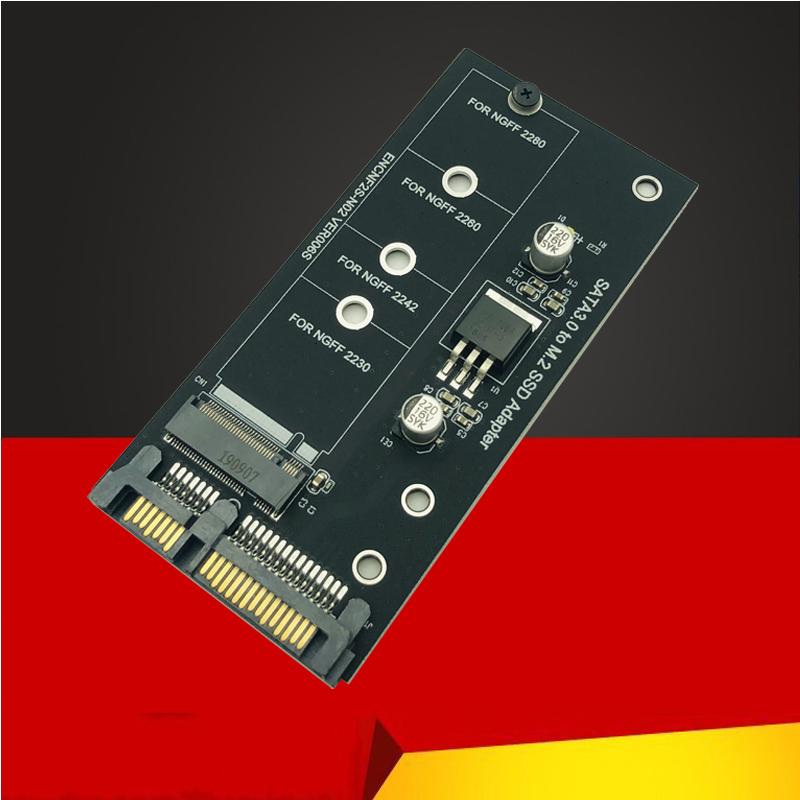 BTBcoin Add On Card M2 SATA Adapter M2 To SATA M.2 To SATA Adapter M.2 NGFF Converter 2.5