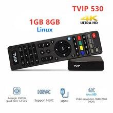2020 nuovo Linux Tvip530 s box V.530 Amlogic S905W Quad Core Set Top Box 4K H.265 Tvip 530 PK Tvip 410 Tv Box