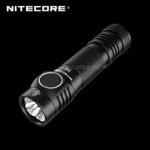 NITECORE linterna compacta E4K de 4400 lúmenes, 4 LED CREE XP L2 V6, 21700, batería de ion de litio de 5000mAh