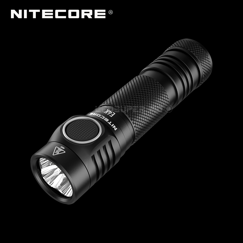 Próxima geração nitecore e4k 4400 lumens 4 x cree XP L2 v6 leds  21700 compacto edc lanterna com 5000 mah li ion bateriaheadlamp 1000  lumensnitecore hc30head torch
