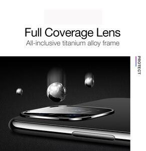 Металлическая крышка для камеры, объектив для iphone 11, закаленное стекло, задняя крышка, полное покрытие для iPhone 11 Pro Max, защитный чехол, Накладка для камеры