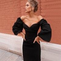 Облегающее платье с объемными рукавами Цена от 620 руб. ($7.78) | 1207 заказов Посмотреть