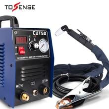 Станок для плазменной резки CUT50 110/220 В напряжение 50А плазменный резак с PT31 сварочные аксессуары