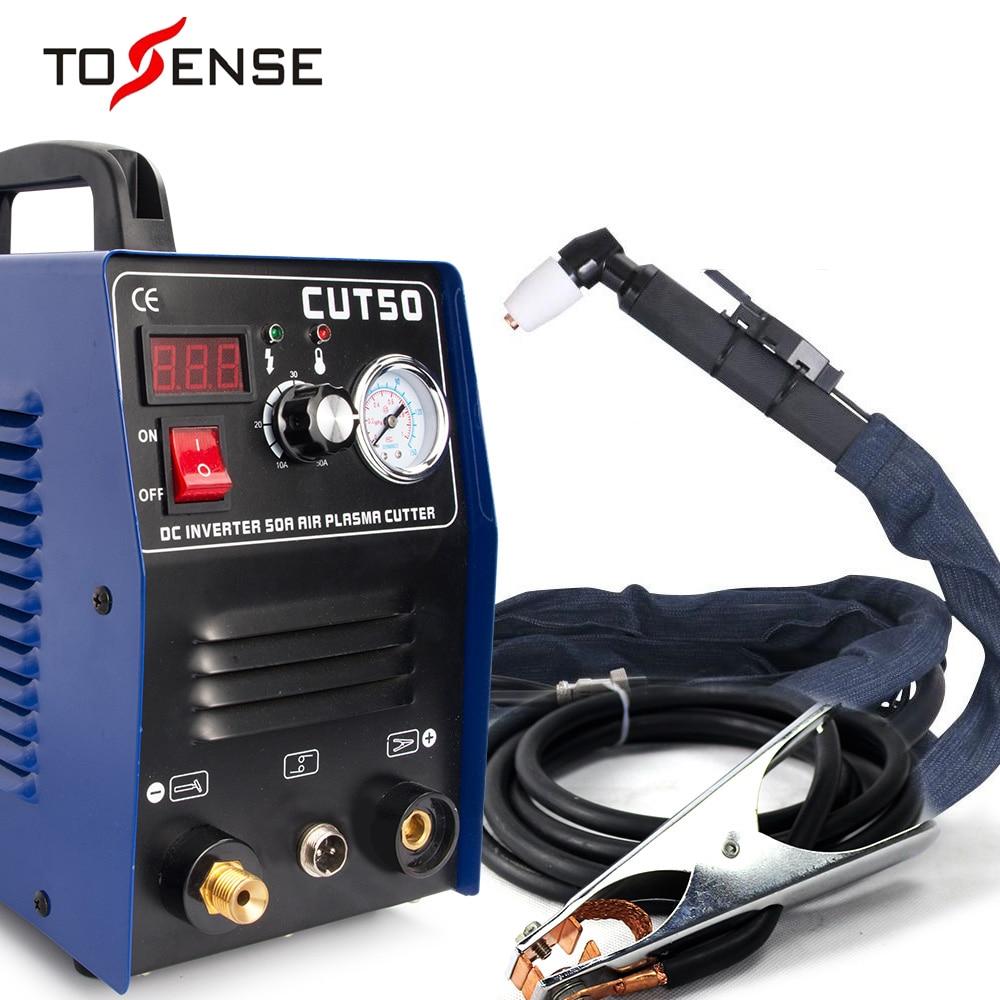 Free Shipping New CUT50 Plasma Cutter Welder Machine 110/220V  Voltage 50A Plasma Cutter With PT31 Free Welding Accessories
