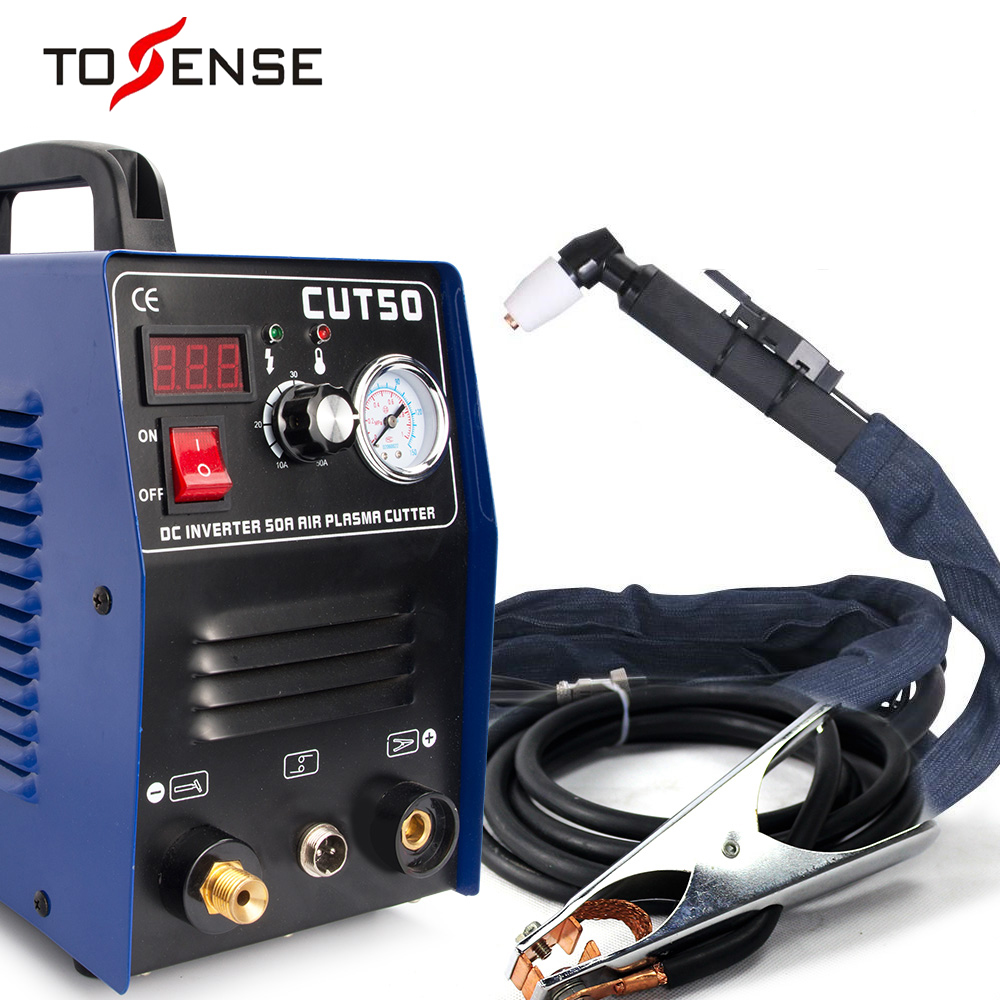 Free Shipping New Plasma Cutting Machine CUT50 110/220V  Voltage 50A Plasma Cutter With PT31 Free Welding Accessories