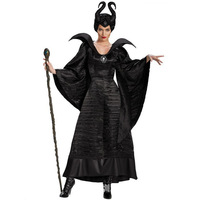movie Maleficent Mistress of Evil Cosplay Costume Angelina Jolie dress Halloween party clothing