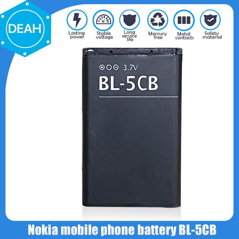 1 sztuk BL-5CB BL5CB wymiana bateria litowa do telefonu Nokia N72 100 101 103 105 109 111 113 1000 1280 1110 1112 1116 3108 2135