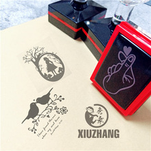 Personalized your own Logo Self inking Stamp Customized Photosensitive ink Stamp Personalized Custom Self Inking Stamp Rubber