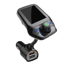 Mode Auto Fm Zenders Usb 5.0 Kabel Zender Ontvanger Draadloze Audio Adapter Auto Accessoires 5V/2.4A Usb Charger
