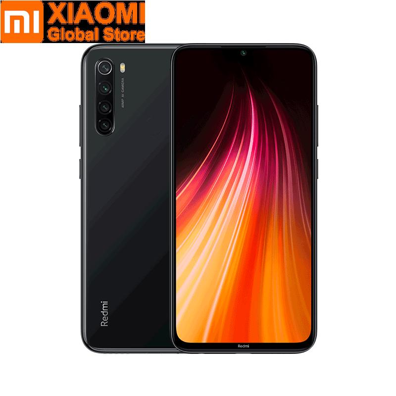 Image 4 - Version mondiale Xiaomi Note 8 4 go RAM 64 go ROM téléphone portable Note8 Snapdragon 665 charge rapide 4000mAh batterie 48MP SmartPhoneMobile Téléphones   -
