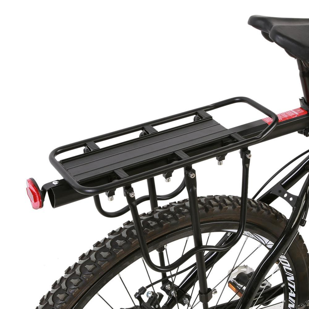 25kg Load Bike Rack Carrier Aluminum Alloy Mountain Bike Bicycle Rear Seat Luggage Shelf Rack Carrier Cycling Accessory
