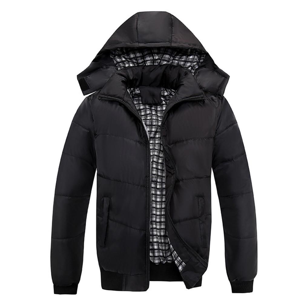 2019 New Winter Jacket Men Casual Outwear Windbreaker Ski Mountaineering Hooded Fashion Jacket Winter Jacket Men