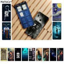 MaiYaCa Tardis Box Doctor Who Soft Silicone TPU Phone Cover for Xiaomi