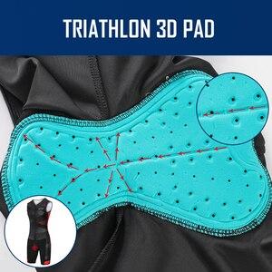 Image 5 - Triathlon Radfahren Jersey 2020 Fahrrad mann Pro Team Radfahren Kleidung MTB Fahrrad Kleidung Swimmsuit Lauf Reiten Anzug Radfahren Outfit