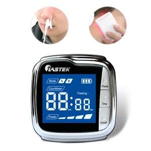 Image 1 - Orologio terapeutico fisico da polso a 18 diodi laser per il trattamento delliperviscosità, delliperlipidemica e del diabete