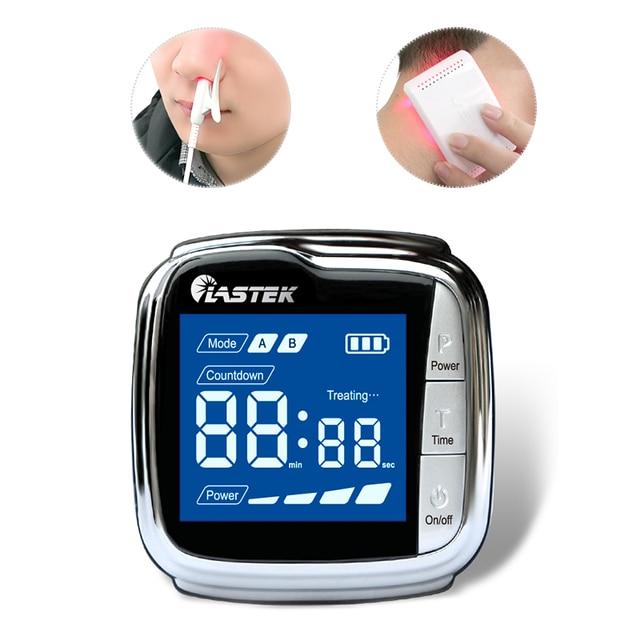 Orologio terapeutico fisico da polso a 18 diodi laser per il trattamento delliperviscosità, delliperlipidemica e del diabete