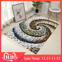 RFWCAK Kreative Europa Typ 3D Druck Teppich Flur Fußmatte Anti-Slip Mat Badezimmer Absorbieren Wasser Küche Teppiche Teppich Tapete