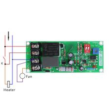 Switch-Board Timer-Control-Relay-Module Delay Adjustable AC100V-220V for Exhaust-Fan