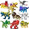 Disney Jurassic World Building Blocks Dinosaur Tyrannosaurus Rex Bricks Animals Educational Toys For Children Christmas Gifts