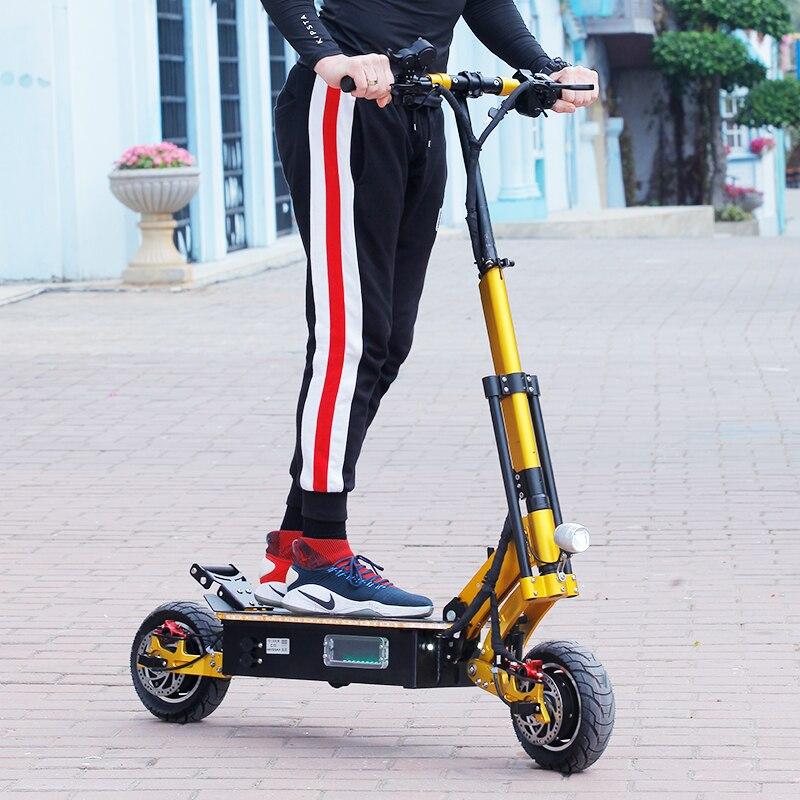 5000W Scooter électrique 95 km/h haute vitesse 38.5ah planche à roulettes hors route Patinete Electrico Adulto Escooter électrique Long Hoverboard