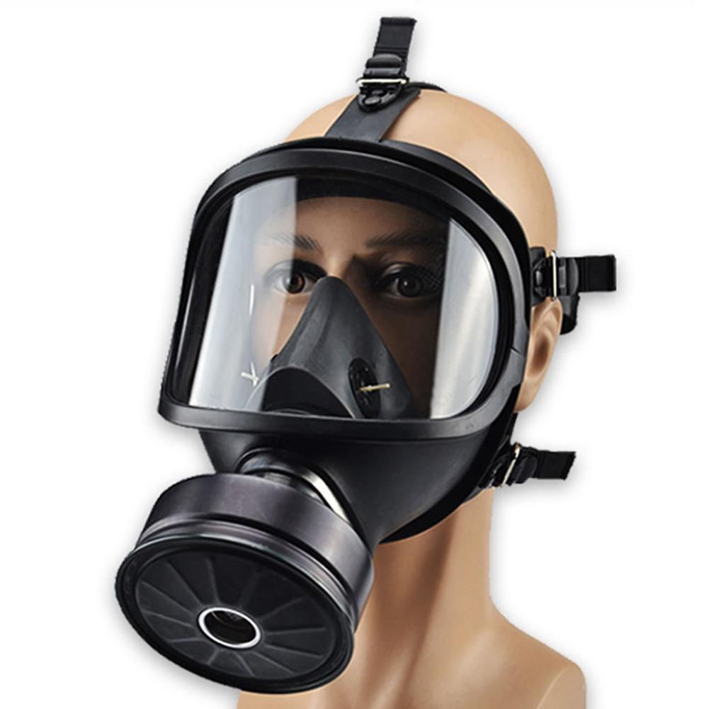 Full Face Gas Mask Military Reality CS Field Protective Helmet Commando Masque A Gaz Respirator Mascara De Gas Militar