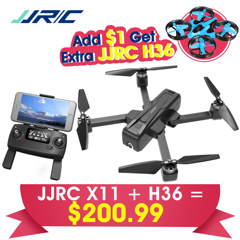 <font><b>JJRC</b></font> <font><b>X11</b></font> 5G WIFI FPV 2K Camera GPS Foldable Remote Control FPV Racing <font><b>Drone</b></font> Quadcopter RTF Model Toys Gift for Boys w/ Free H36 image