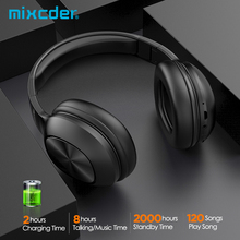Mixcder HD901 Wireless Bluetooth Headphone Over-Ear Wired Wireless Headphones Foldable Bluetooth 5 0 Headset with Mic TF Card cheap Dynamic CN(Origin) Wireless+Wired 108±3dBdB 10mW 1 25Nonem For Mobile Phone For Internet Bar for Video Game HiFi Headphone
