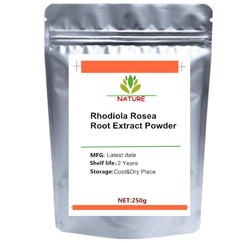 Pure Rhodiola Rosea 3% Rosavins 1% Salidrosides Extract Powder Natural Adaptogen