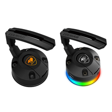 COUGAR ratón de juegos RGB Bungees, soporte de cables, ventosa, gestión de cables, fijador de clips con 2 puertos USB, 14 modos de iluminación