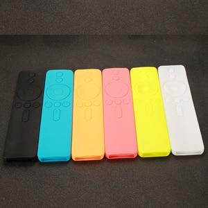 1Pc Xiaomi 4a4c Voice Remote Cases Soft Silicone Protective Case for Mi Remote Rubber Cover for Xiaomi Remote Control Mi TV Box