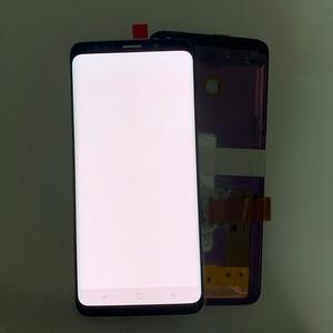 Image 4 - סופר AMOLED יש את לשרוף צל LCD עם מסגרת לסמסונג גלקסי S9 G960 S9 בתוספת G965 מגע מסך digitizer עצרת