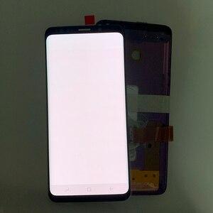 Image 4 - سوبر أموليد لديه حرق الظل LCD مع الإطار لسامسونج غالاكسي S9 G960 S9 زائد G965 شاشة تعمل باللمس محول الأرقام الجمعية